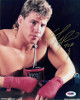 Tommy Morrison signed Heavyweight Boxing 8x10 Photo TCB inscribed- PSA/DNA Hologram (Rocky V)