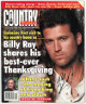 "Billy Ray Cyrus signed  ""Country Weekly""  Full Magazine November 26, 1996 - JSA Hologram #EE61378 (No Label)"