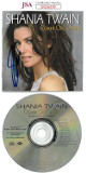 Shania Twain signed Come on Over International Version Album CD Cover with CD- JSA Hologram #GG36339