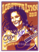 Loretta Lynn signed 2010 50th Anniversary Tribute To An American Icon 4.5X5.5 Postcard– JSA Hologram #GG36312