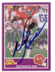 Neil Smith signed Kansas City Chiefs 1989 Score Supplement Rookie Card (RC) #407S- Tri-Star Hologram