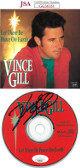 Vince Gill signed Let There Be Peace On Earth Album CD with Cover- JSA Hologram #GG36324
