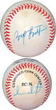 Brett Butler signed RONL Rawlings Official National League Baseball toned +1 sig- JSA Hologram #EE63484 (Braves/Giants/Dodgers)