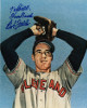 Bob Feller signed Cleveland Indians 8x10 Photo To Bill Good Luck