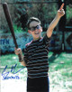 Chauncey Leopardi signed The Sandlot 8x10 Photo w/ Squints