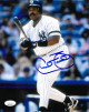 Cecil Fielder signed New York Yankees 8X10 Photo- JSA Witnessed Hologram
