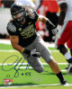 Casey Matthews signed Oregon Ducks 8x10 Photo #55