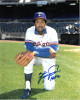 Fergie Jenkins signed Texas Rangers 8x10 Photo HOF 91 (on knee)
