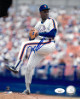 Dwight/Doc Gooden signed New York Mets 8x10 Photo- JSA Hologram