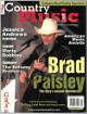 Brad Paisley signed Country Music Live Full Magazine May 2001 cover wear- JSA Hologram #DD63017