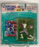 Curtis Martin signed 1997 New England Patriots Starting Lineup Action Figure & Trading Card Original Packaging #28- JSA #EE60317