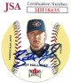 Roy Halladay signed Toronto Blue Jays 2003 Fleer Hardball Baseball Card #232- JSA Hologram #HH18435