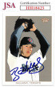 Roy Halladay signed Toronto Blue Jays 2003 Topps 206 Baseball Card #325- JSA Hologram #HH18425