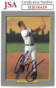 Chipper Jones signed Atlanta Braves 2005 Topps Turkey Red Baseball Card #40- JSA Hologram #HH18429