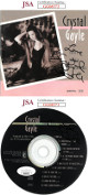 Crystal Gayle dual signed Three Good Reasons Album CD Cover & CD- JSA Hologram #GG08372 & #GG08373