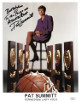 Pat Summitt signed Tennessee Lady Vols/Volunteers 8.5x11 Photo JSA Hologram #HH18627- imperfect Best Wishes To Athletes Foot