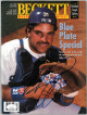 Mike Piazza signed Beckett Baseball Card Monthly Full Magazine July 1996- JSA #EE60437 (Los Angeles Dodgers)