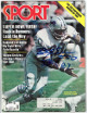 Billy Sims signed Sport Full Magazine January 1981 80 ROY- JSA #EE60282 (Detroit Lions)