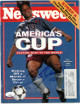 Cobi Jones signed Newsweek Full Magazine 6/20/1994 #13 USA- JSA #EE60454 (America's Cup/Soccer)