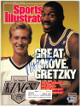 Magic Johnson signed Sports Illustrated Full Magazine 8/22/1988- Beckett/BAS #Q75306 (Los Angeles Lakers w/ Wayne Gretzky)