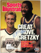Magic Johnson signed Sports Illustrated Full Magazine 8/22/1988 torn label- Beckett/BAS #Q75307 (LA Lakers w/ Wayne Gretzky)