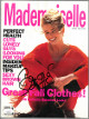 Claudia Schiffer signed Mademoiselle Full Magazine August 1990- JSA #EE60260 (no label)
