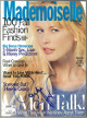Claudia Schiffer signed Mademoiselle Full Magazine September 1994 cover damage/bends- JSA #EE60265 (no label)