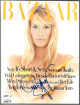Claudia Schiffer signed Harper's Bazaar Full Magazine March 1994 cover wear- JSA #EE60263 (no label)