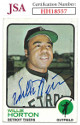 Willie Horton signed 1973 Topps Baseball Card #433- JSA #HH18557 (Detroit Tigers)