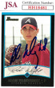 Adam Wainwright signed 2001 Bowman Rookie Baseball Card (RC) #206- JSA #HH18481 (Atlanta Braves)