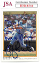 George Brett signed 1991 O-Pee-Chee Premier Baseball Card #14 Bill My Best- JSA #HH18544 (Kansas City Royals)