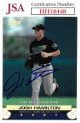 Josh Hamilton signed 2000 Topps Stadium Club Baseball Card #183- JSA #HH18448 (Tampa Bay Devil Rays)