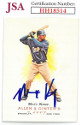 Matt Kemp signed 2007 Allen & Ginter's Baseball Card #47- JSA #HH18514 (Los Angeles Dodgers)
