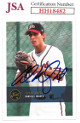 Adam Wainwright signed 2000 Justifiable 2K Rookie Baseball Card (RC) #291- JSA #HH18482 (Danville Braves)