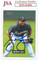Andruw Jones signed 2005 Bowman Heritage Baseball Card #309- JSA #HH18486 (Atlanta Braves)