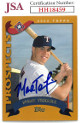 Mark Teixeira signed 2002 Topps Prospects Rookie Baseball Card #T169- JSA #HH18459 (Texas Rangers)