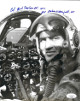 Col. George/Bud Day signed WWII/Korea/Vietnam Air Force Pilot Vintage B&W 8x10 Photo- JSA #II11648 (Medal of Honor/POW)