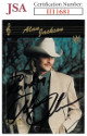 Alan Jackson signed 1992 Academy of Country Music Collect-A-Card #1- JSA #II11681- To Randy