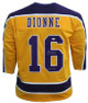 Marcel Dionne signed Los Angeles Pro Style Hockey Gold Jersey HOF 92- JSA Witnessed