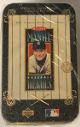 1995 Mickey Mantle Upper Deck Metallic Impressions Baseball Heroes 10 Metal Card Set Collectors Tin Factory sealed