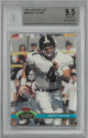 Brett Favre 1991 Topps Stadium Club Football Rookie Card (RC) #94- Beckett Graded 9.5 Gem Mint (Atlanta Falcons)