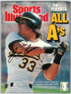 Jose Canseco signed Sports Illustrated Full Magazine 10/17/1988 no label- JSA #EE60442 (Oakland A's)