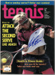 Andre Agassi signed Tennis Full Magazine May 1992- JSA #EE63375 (no label)