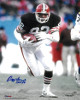 Ozzie Newsome signed Cleveland Browns 8x10 Photo HOF 99- Tri-Star Hologram (brown jersey)