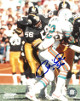 Robin Cole signed Pittsburgh Steelers 8X10 Photo #56