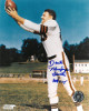 Dante Lavelli signed Cleveland Browns 8x10 Photo dual Gluefingers/HOF 1975 (catch/side view)