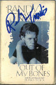 Randy Travis signed 1998 Out of my Bones Cassette Cover/Tape Single- JSA #KK58304 (Cover Wear/Country Music)