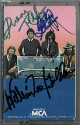 Oak Ridge Boys signed 1981 Fancy Free Cassette Cover/Tape 4 sig William Lee Golden/Joe Bonsall/Duane Allen/Richard Sterban-JSA