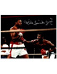 Michael Spinks signed Boxing Collage 8x10 Photo Jinx- JSA (vs Larry Holmes)