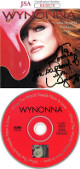 Wynonna Judd signed 2003 What The World Needs Is Love Album Cover w/ CD & Case To Ronnie- JSA #KK58178